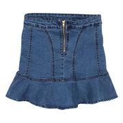 Women's denim skirt from China (mainland)