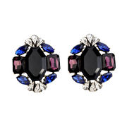 Elegant bronze plated stud earring from China (mainland)