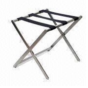 Stainless Steel Luggage Rack, Suitable for Hotel Furniture