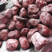 Red pebble from China (mainland)