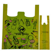 Plastic T-shirt Bag from China (mainland)