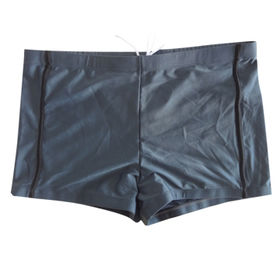China Men's Swim Trunks, Contrasted Binding on Front, Made of 80% Polyamide and 20% Spandex