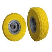 Yellow PU foam wheelbarrow tire