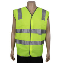 Men's reflective safety vest from China (mainland)