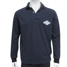 Men's long-sleeved polo shirts from China (mainland)