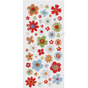 Flower Epoxy Stickers from South Korea