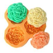 Silicone cake decorating molds from China (mainland)
