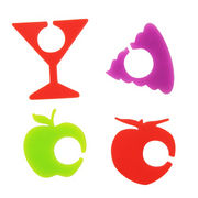 China Silicone wine charms