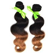 body wave mix color 2-tone 27# hair extension from China (mainland)