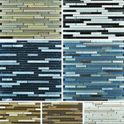 Stone and glass mosaic tile from China (mainland)