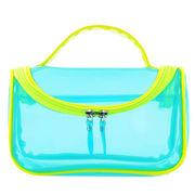 Transparent cosmetic bag, measures 20.5*8.5*14cm, waterproof with various colors from Fuzhou Oceanal Star Bags Co. Ltd