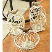 The Birdcage Iron Candlestick from China (mainland)