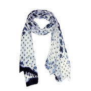 Viscose woven scarf from India