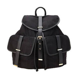 China Faux Leather & Canvas backpack