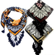 Polyester woven scarves from India