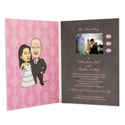 Video wedding invitation card from China (mainland)