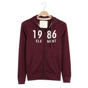 China Men's zip hoodies