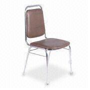 Powder-coated Square Steel Tube Banquet Chair from China (mainland)