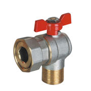 Forged angle brass ball valve from China (mainland)
