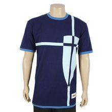 Men's short-sleeved tee shirts from China (mainland)