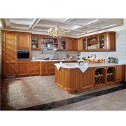 Cherry solid wood kitchen cabinet Manufacturer