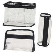 Clear Plastic Tote Cosmetic Makeup Bag Large Mediu from China (mainland)