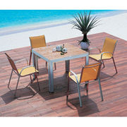 Outdoor use dining sets from China (mainland)