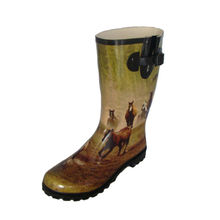 Rubber Rain Boot from China (mainland)