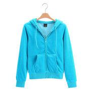 Women's Sweatshirt Zip-up Hoody from China (mainland)