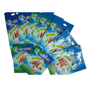 PE material company LOGO laundry bags Plastic pack from China (mainland)