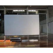China Customized Projection Screen/Fast Fold Projector Screen with Portable Flight Case
