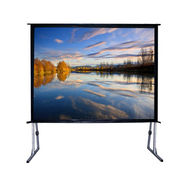 China Fast foldable projector screen/fast Fold Screen/large Outdoor Projection Screens