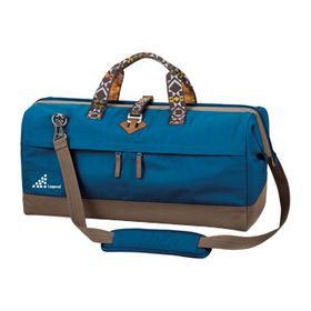 Large Leisure Travel Duffel Bag, Made of Polyester