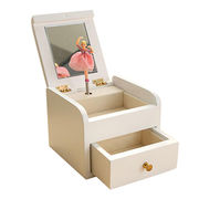 Jewelry Boxes, Wooden Ballet Dancing Creative Gifts