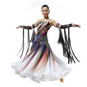 Smooth ballroom competition dance dress from China (mainland)