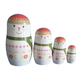 Wooden matryoshka doll toy Manufacturer
