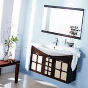 Solid wood vanity cabinet from China (mainland)