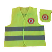 Kid's front Velcro closure safety vest from China (mainland)