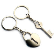 Key and Lock Keychain from China (mainland)
