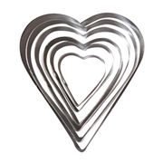 Heart cookie cutter set from China (mainland)