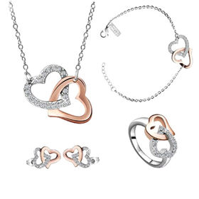 Stylish Stainless Steel Jewelry Set from China (mainland)
