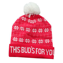 China Beanie for promotion, made of 100% acrylic, with embroidery