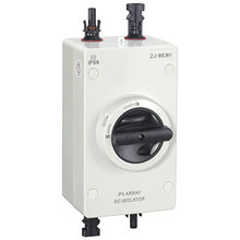 Plastic Enclosure DC Switch Dis-connector from China (mainland)