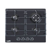 Hot Selling Black Glass Built-in 4-burner Gas Stov from China (mainland)