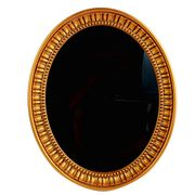 Plastic oval frame mirror from China (mainland)
