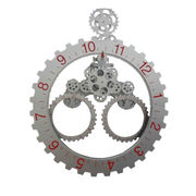 Plastic Gear Wall Clock for Decoration