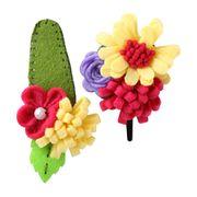 Felt Flower Set from Taiwan