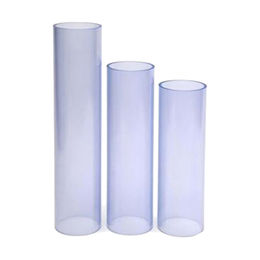 Clear uPVC Pipes, ASTM SCH 40 Standard