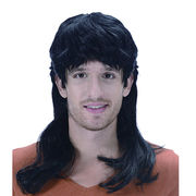 Synthetic Mullet Wig from China (mainland)
