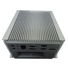 Heatsink, Used for Electronic Equipments, Made of Aluminum with Anodized Surface from Shanghai ESME Corp. Ltd